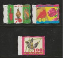 NEDERLAND, 1996, MNH Stamps, Nature, Flowers, Nr(s). MI 1566-1568,#5769 - Period 1980-... (Beatrix)