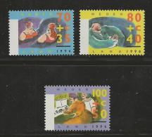 NEDERLAND, 1996, MNH Stamps, Summer Issue, Nr(s). MI 1571-1573, #5772 - Period 1980-... (Beatrix)