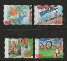NEDERLAND, 1996, MNH Stamps, Olympic Games Atlanta Nr(s). MI 1581-1584, #5774 - Period 1980-... (Beatrix)