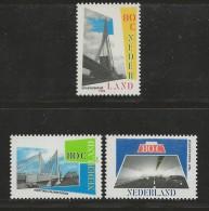 NEDERLAND, 1996, MNH Stamps, Tunnels And Bridgesnr(s). MI 1585-1587, #5775 - Period 1980-... (Beatrix)