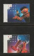 NEDERLAND, 1996, MNH Stamps, Sesam Street Nr(s). MI 1588-1589, #5776 - Period 1980-... (Beatrix)