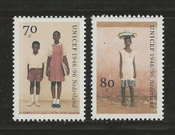 NEDERLAND, 1996, MNH Stamps, Unicef,  Nr(s). MI 1590-1591, #5777 - Period 1980-... (Beatrix)