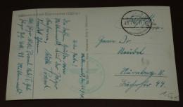 Deutsches Reich Brief Feldpost Karte Mittenwald  #cover2596 - Briefe U. Dokumente