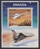 Rwanda - 1978 Aviation block MNH__(TH-1999)