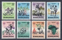 Rwanda - 1978 Scouts MNH__(TH-455)