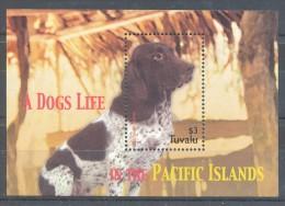 Tuvalu - 2005 Dogs Block MNH__(TH-8010) - Tuvalu
