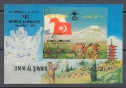 Umm Al Qiwain - 1972 Scouts Block MNH__(TH-12907) - Umm Al-Qiwain