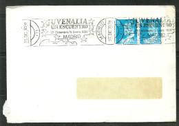 ESPAÑA-  CARTA CIRCULADA  A  ANDORRA  CON MATASELLOS ESPECIALES (S-2- C.08.14).) - Spain