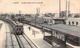 91 - Juvisy - La Plus Grande Gare Du Monde (trains) - Juvisy-sur-Orge