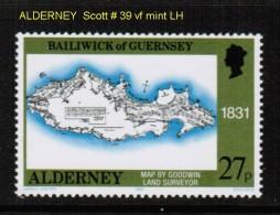 ALDERNEY    Scott  # 39* VF MINT LH - Alderney
