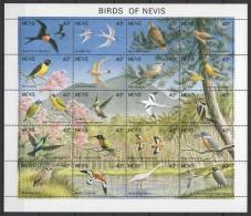 Nevis (1991) Yv. 569/88   /  Aves - Birds - Oiseaux - Vogel - Vogels