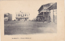 Djibouti - Place Menelik (animée, Précurseur) - Djibouti