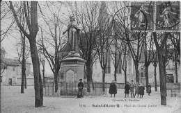 SAINT DIZIER : Place Du Grand Jardin - CPA Postée En 1911 - Saint Dizier