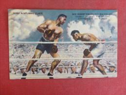 Jack Dempsey  Linen    Crease Ref 1424 - Boxing