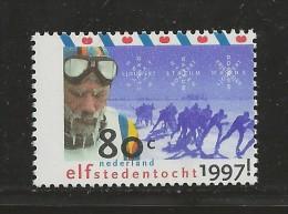 NEDERLAND, 1997, MNH Stamps, 11 Cities Skating Tour,  Nrs. MI 1606, #5783 - Period 1980-... (Beatrix)