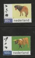NEDERLAND, 1997, MNH Stamps, Nature Animals,  Nr(s). MI 1608-1609, #5785 - Period 1980-... (Beatrix)