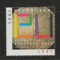 NEDERLAND, 1997, MNH Stamps, European Union  Nr(s). MI 1622 #5798 - Period 1980-... (Beatrix)