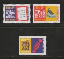 NEDERLAND, 1998, MNH Stamps, Summer Issues,  Nr(s). MI 1653-1655 #5811 - Period 1980-... (Beatrix)