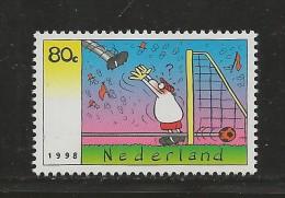 NEDERLAND, 1998, MNH Stamps, Soccer World Cup,  Nr(s). MI 1657, #5814 - Period 1980-... (Beatrix)