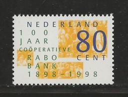 NEDERLAND, 1998, MNH Stamps, Rabobank,  Nr(s). MI 1659, #5816 - Period 1980-... (Beatrix)