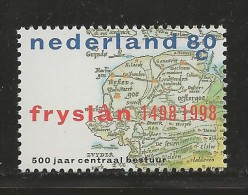 NEDERLAND, 1998, MNH Stamps, Province Friesland,  Nr(s). MI 1660, #5817 - Period 1980-... (Beatrix)