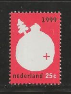 NEDERLAND, 1999, MNH Stamp(s), December Issue 25 Cent,  Nr(s). MI 1703, M5825 - Period 1980-... (Beatrix)