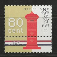 NEDERLAND, 1999, MNH Stamp(s), 200 Year Postservice,  Nr(s). MI 1705, #5827 - Period 1980-... (Beatrix)