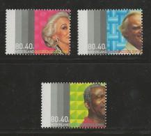 NEDERLAND, 1999, MNH Stamp(s), Elderly,  Nr(s). MI 1713-1715, #5831 - Period 1980-... (Beatrix)