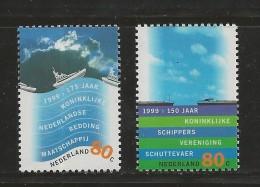 NEDERLAND, 1999, MNH Stamp(s), Tourism, Water Country,  Nr(s). MI 1717-1718, #5833 - Period 1980-... (Beatrix)