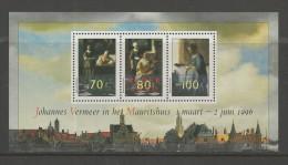 NEDERLAND, 1996, MNH Stamp(s) Block, Johannes Vermeer,  Nr(s). Bl 46, #5870 - Period 1980-... (Beatrix)