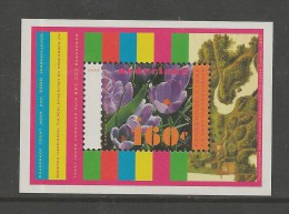 NEDERLAND, 1996, MNH Stamp(s) Block, Nature, Flowers,  Nr(s). Bl 47, #5853 - Period 1980-... (Beatrix)