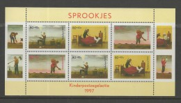 NEDERLAND, 1997, MNH Stamp(s) Block, Child Welfare, Nr(s). Bl 54, #5862 - Period 1980-... (Beatrix)