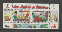 "NEDERLAND, 1998, MNH Stamp(s) Block, Comics Jan & Jans""  Blocknr(s). 57, #5838 - Period 1980-... (Beatrix)"