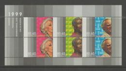 NEDERLAND, 1999, MNH Stamp(s) Block, Elderly,  Blocknr(s). 59, #5865 - Period 1980-... (Beatrix)