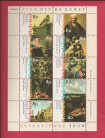 NEDERLAND, 1999, MNH Stamp(s) Block, 17th Centenary,  Sheetnr. F2467 - Period 1980-... (Beatrix)