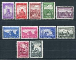 Serbien Nr. 71-81 Postfrisch - Occupation 1938-45