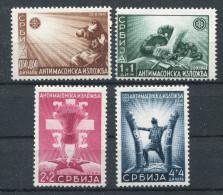 Serbien Nr. 58-61 Postfrisch - Occupation 1938-45