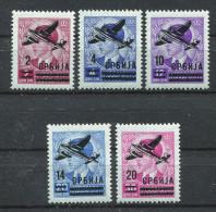 Serbien Nr. 66-70 Postfrisch - Occupation 1938-45