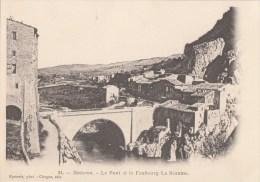 SISTERON LE PONT ET LE FAUBOURG LA NEAUME  N° 24 - Sisteron