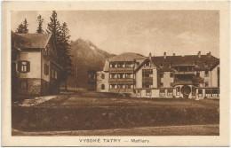 Slovakia Vysoke Tatry Matliary - Slovakia