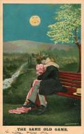 Couples - Couple - Amour - Baiser - Femmes - Femme - Lune - The Same Old Game - état - Koppels