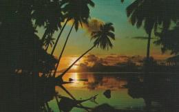Moorea  Sunset  Tahiti.  S-962 - Tahiti