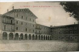 CPA 26 VALENCE QUARTIER DU GRAND SEMINAIRE - Valence