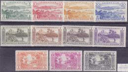 12387# NOUVELLES HEBRIDES SERIE COMPLETE N° 175 à 182 * + 183 à 185 ** Cote : 47 Euros - French Legend