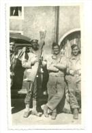 PHOTOGRAPHIE MILITARIA MILITAIRE SOLDAT REGIMENT VEHICULE  UNIFORME GUERRE - Militaria