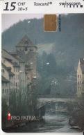Taxcard Swisscom - Pro Patria - Brugg - Stadt Der Begegnung Am Historischen Aareübergang - Paysages
