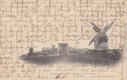 Cpa  Castelnaudary. Moulins à Vent Du Pech. ( 2 Scans ) - Castelnaudary
