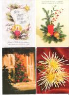 Österreich - 4 Cards - Weihnachten Und Gesundes Neues Jahr - Nice Stamps - Christmas