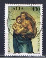 I+ Italien 1983 Mi 1862-63 Raffael - 6. 1946-.. Repubblica