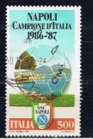 I+ Italien 1987 Mi 2016 SSC Neapel - 6. 1946-.. Repubblica